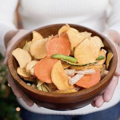 Chips de verduras, un snack saludable
